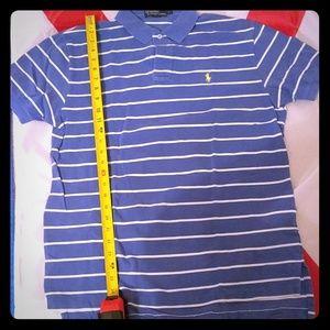 Ralph Lauren Polo shirt Union blue with white